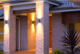 Outdoor Patio Wall Lights Outside Wall Lights For House Kimidoriproject Club