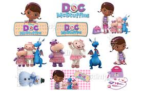 doc mcstuffin cake toppers doc mcstuffins characters sheet individuals custom edible cake