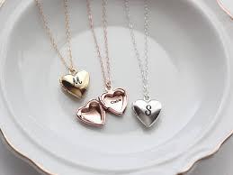 personalized heart locket heart locket heart locket necklace locket personalized
