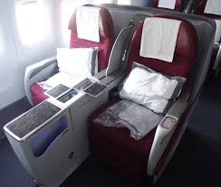 Most Comfortable Airlines Qatar Airways 777 Business Class In 10 Pictures One Mile At A Time