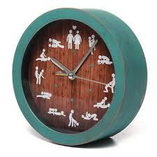 sexe au bureau tempsa réveil horloge sexuelle créatif sexe bureau montres rétro 12