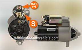 part 2 how to test the starter motor ford 4 0l