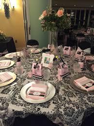 paris theme table setting table settings pinterest paris theme