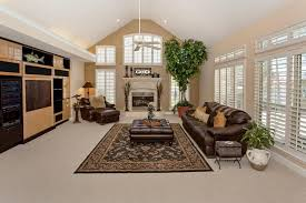 Carpet Barn Jacksonville Fl Traditional Living Room With Built In Bookshelf U0026 Cathedral