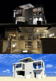 Contemporary Modern House by House Plan 67595 At Familyhomeplans Com