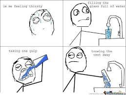 Drinking Water Meme - when i drink water by recyclebin meme center
