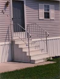Home Handrails Ace Home U0026 Building Center Inc Century Concrete Steps And