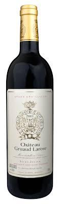 30 years of château gruaud 2001 chateau gruaud larose wine library