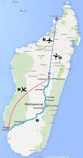 Madagascar Map The Comprehensive Tour In 21 Days U2013 Animals Peoples And