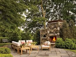 fun outdoor fireplace ideas planhome ideas appliances home for