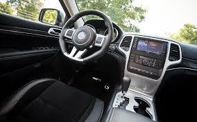 srt8 jeep interior 2012 jeep grand srt8 editors notebook automobile