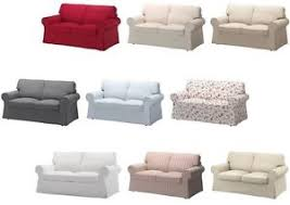 ikea housse canapé ektorp ikea cover two seat sofa ektorp available in different colours ebay