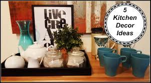 Kitchen Tidy Ideas 5 Kitchen Decor Ideas Youtube