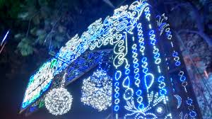 file christmas decorations and lightings at park street kolkata