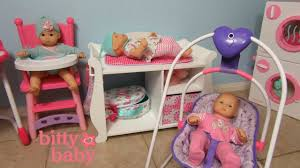 Doll Changing Tables Bitty Baby Doll Washer Dryer Changing Table High Chair You