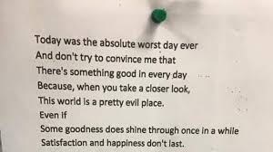 Bad Mothers Brooklyn Teen U0027s Poem Is Viral After Man Finds In London Bar