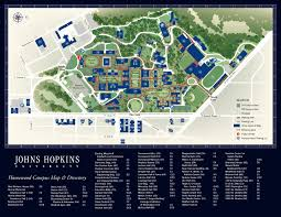 Boston College Campus Map by Johns Hopkins Campus Map Washington D C Baltimore