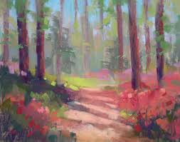 painting my world tips for painting the spring landscape