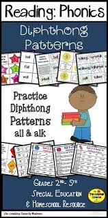 pattern practice games diphthong patterns all alk fun learning phonics and school