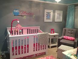Nursery Paint Colors Alluring Owl Nursery Decor Ideas With Grey Wall Paint Color Scheme
