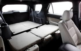 Ford Explorer Interior Dimensions - ford explorer 8 seater reviews prices ratings with various photos
