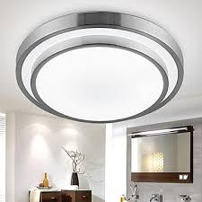 flush mount lights led 18w bathroom kitchen light round simple