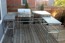 how to build an outdoor kitchen island build your own outdoor kitchen island