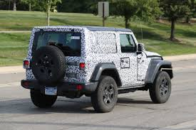 grey jeep wrangler 2 door 2018 jeep wrangler spy photos what every new jeep wrangler