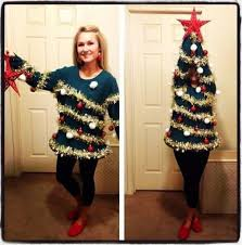 christmas tree jumper with lights best christmas sweater ever looks like a tree neatorama