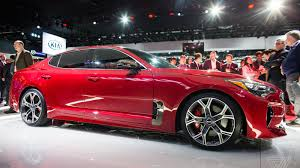 sport cars 2017 the kia stinger is a sports sedan that sizzles in a sea of