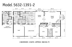 Mobile Home Floor Plan Unique Mobile Home Plans 5 14 X 60 Mobile Home Floor Plans