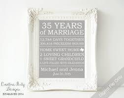 35 wedding anniversary gift 35th wedding anniversary gift adorable 35th wedding anniversary