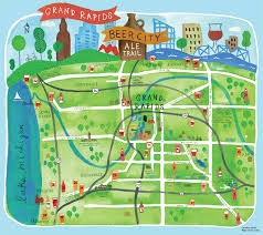 city map tours in grand rapids breweries tours ale trail