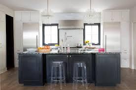 black kitchen island lucite chandeliers with black kitchen island contemporary kitchen