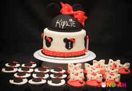 songiah kylie u0027s minnie mouse birthday cakes