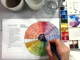 color wheel watercolor glazing part 2 2 youtube