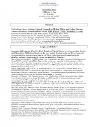 Sample Resume For Medical Billing And Coding by Job Description For Medical Coder Resume Sample Throughout Medical
