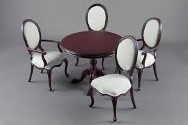 mahogany dining room set mahogany dining room set dollhouse alley