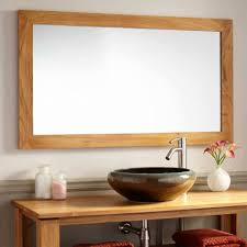 Bathroom Mirror With Light Bathroom Decorative Large Framed Bathroom Mirrors With 6 Lights