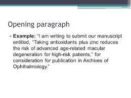 writing cover letters for scientific manuscripts ppt video