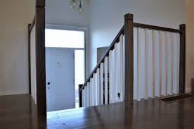 Oak Banister Makeover Week 26 Zen Stairs And Handrail With Square Spindles U2022 The