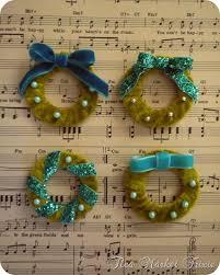 42 best tutorials miniature wreaths garlands images