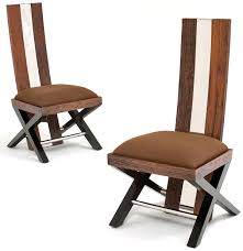 modern wooden chairs for dining table enthralling reclaimed wood dining chair rustic modern eco friendly