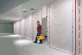 zipfast u0027s reusable barrier panels keep home and commercial areas