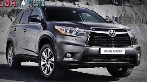 toyota highlander toyota highlander 2016 interior and exterior with full