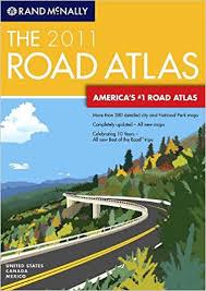 map of united states canada rand mcnally 2011 road atlas united states canada and mexico