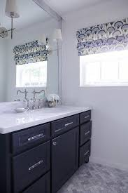dark blue bathroom vanity transitional for attractive house