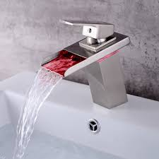 Led Kitchen Faucet by Kitchen Faucet Colors
