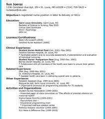 nurse resume header exles for apa resume nursing sle new grad leadership objective statement