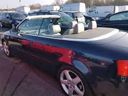 audi harlow audi a4 convertible 93000 in harlow essex gumtree